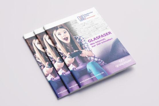 Glaspower Broschüre