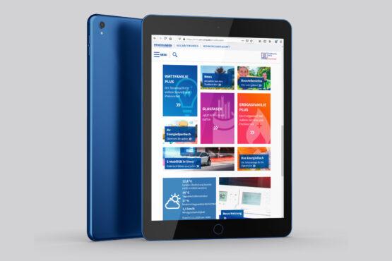 SWU Homepage Tablet